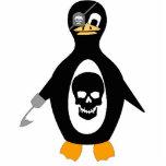 Pirate Penguin Photo Cutout