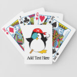 Pirate Penguin Playing Cards