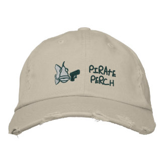 Pirate Perch - Embroidered Hat