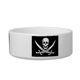 Pirate Pet Feeding Dish Cat Bowl