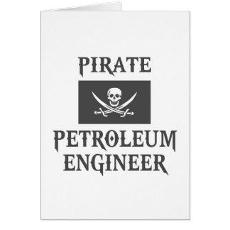 Pirate Petroleum Engineer Card