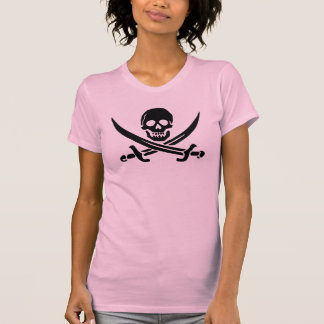 Pirate phone case Jolly Rodger flag ship boat eye Tee Shirts