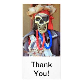 Pirate Photo Card Template