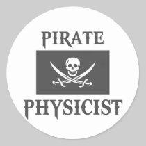 Pirate Physicist Sticker