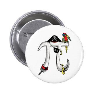 Pirate Pi Day Gear Pins
