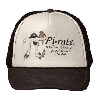 Pirate Pi Day Gear Trucker Hat