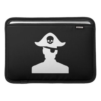 Pirate Pictogram MacBook Air Sleeve