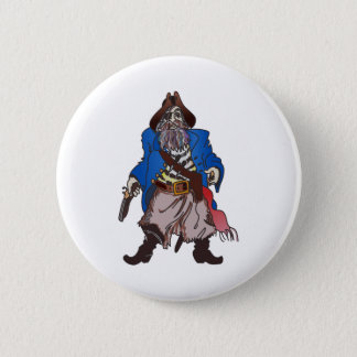 PIRATE PINBACK BUTTON