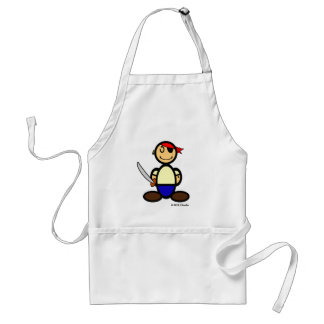 Pirate (plain) adult apron