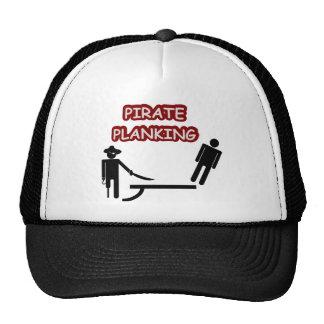 Pirate Planking Trucker Hat