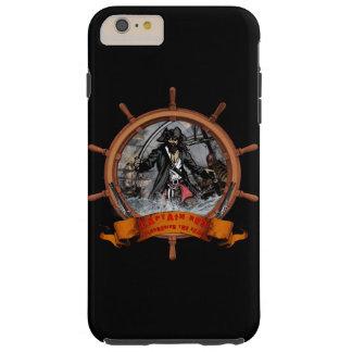 Pirate plundering the seas. tough iPhone 6 plus case