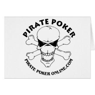 pirate poker card