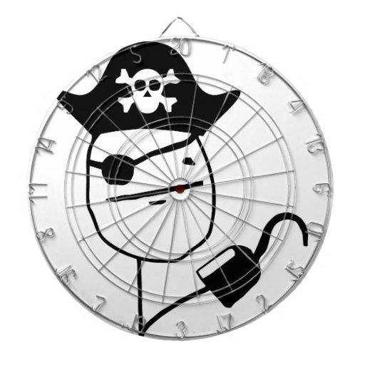 Pirate poker face - meme dartboards