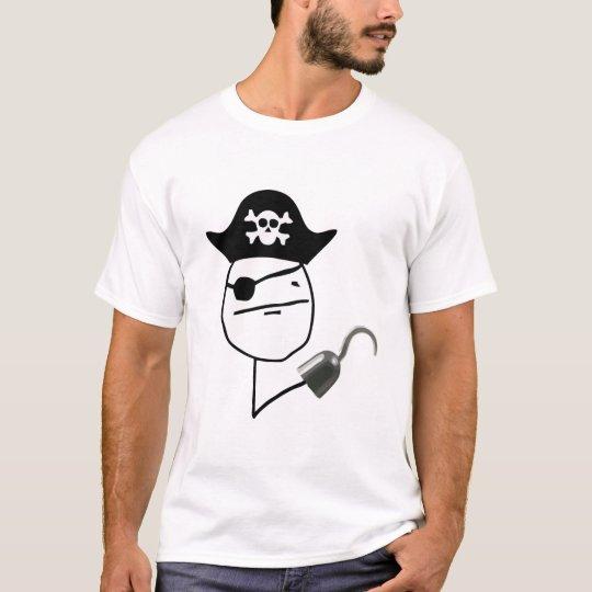 Pirate Poker Meme Shirt