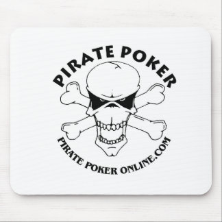 pirate poker mouse pad