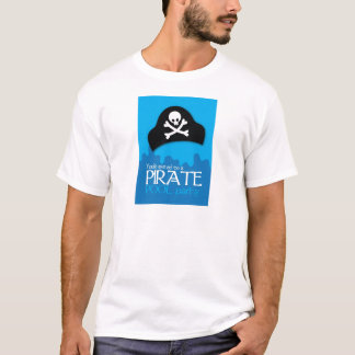 Pirate pool party invitation T-Shirt