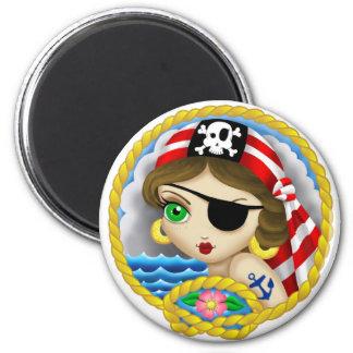 Pirate Portrait Magnet