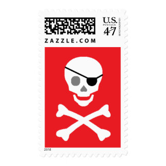 """Pirate"" Postage Stamps"