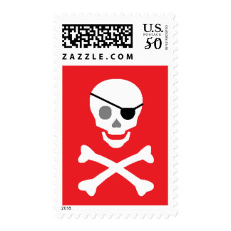 """""""Pirate"""" Postage Stamps"""