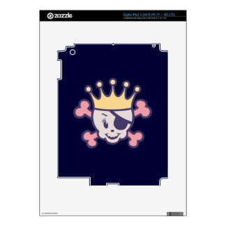 Pirate Princess III Skins For iPad 3