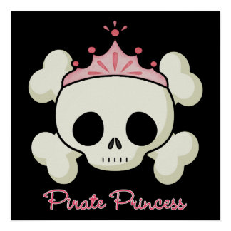 Pirate Princess Print