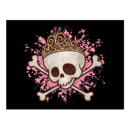 Pirate Princess -tiara Post Card
