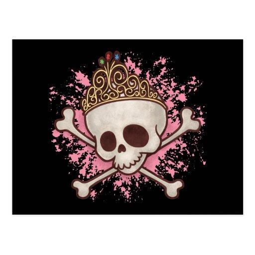 Pirate Princess -tiara Postcard