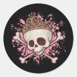 Pirate Princess -tiara Sticker