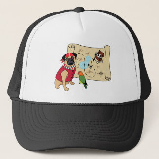 Pirate Pug Hat - New Design! Arrghhh