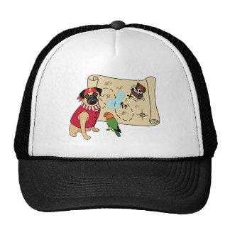 Pirate Pug Hat - New Design! Arrghhh