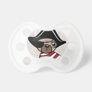 Pirate Pug Pacifier