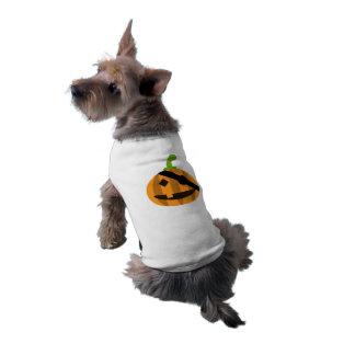 Pirate Pumpkin Halloween Dog T-Shirt