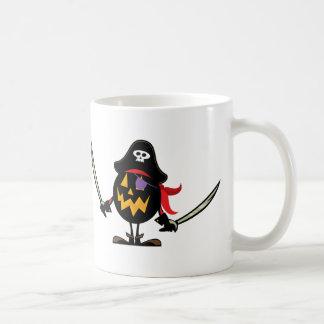 Pirate Pumpkin Mug