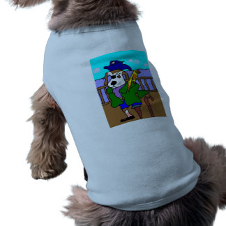 Pirate Pup Pete And Silly Sally Parrot Shirt