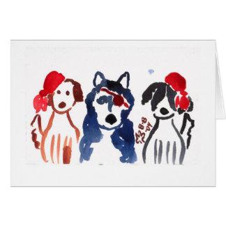 Pirate Pups Card