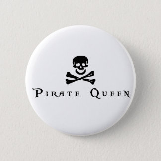 Pirate Queen Button