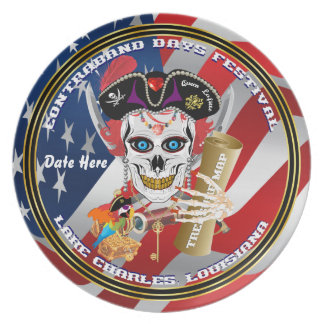 Pirate Queen Commemorative Plate View About Design