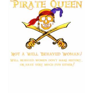 Pirate Queen Dark T-Shirt shirt