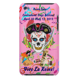 Pirate Queen Lafitte All Styles View Hints Barely There iPod Cover