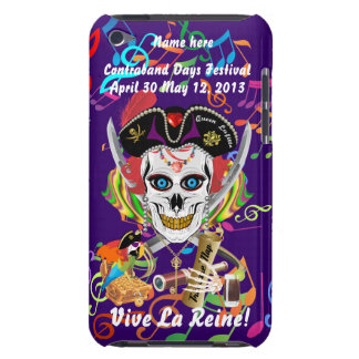 Pirate Queen Lafitte All Styles View Hints Case-Mate iPod Touch Case