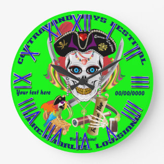 Pirate Queen Lafitte All Styles View Hints Wall Clocks