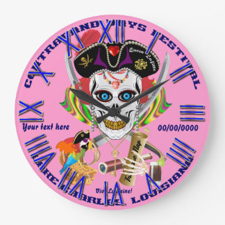 Pirate Queen Lafitte All Styles View Hints Wallclock