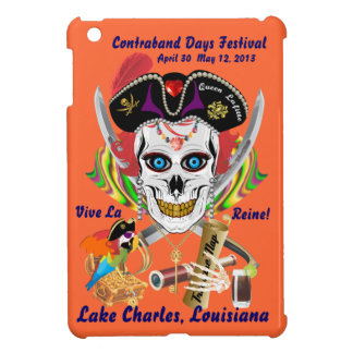 Pirate Queen Lafitte All Styles View Hints iPad Mini Cover