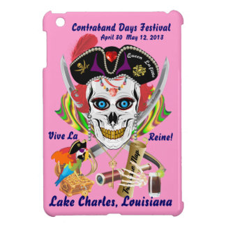 Pirate Queen Lafitte All Styles View Hints iPad Mini Covers