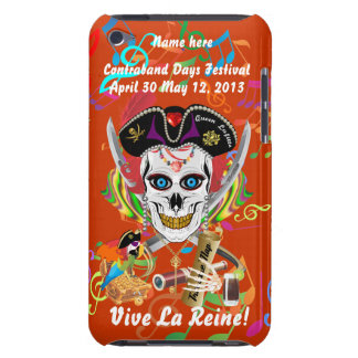 Pirate Queen Lafitte All Styles View Hints iPod Case-Mate Case