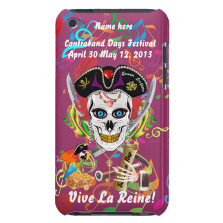 Pirate Queen Lafitte All Styles View Hints iPod Touch Case