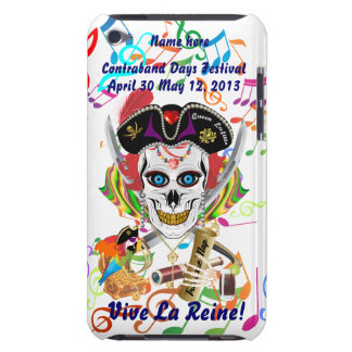 Pirate Queen Lafitte All Styles View Hints iPod Touch Case-Mate Case