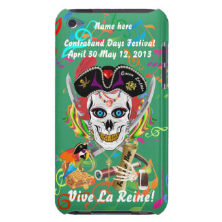 Pirate Queen Lafitte All Styles View Hints iPod Touch Cases