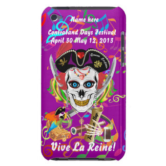 Pirate Queen Lafitte All Styles View Hints iPod Touch Cover