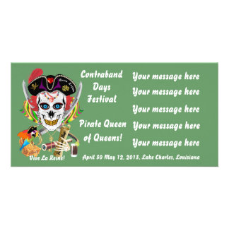 Pirate Queen Lafitte All Styles View Hints Picture Card